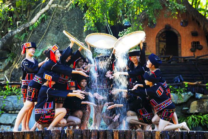 三亚槟榔谷一日游